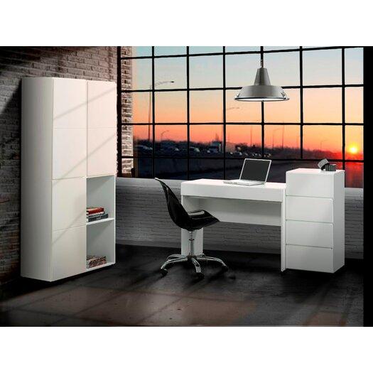 Nexera BLVD Computer Desk  with Keyboard Tray