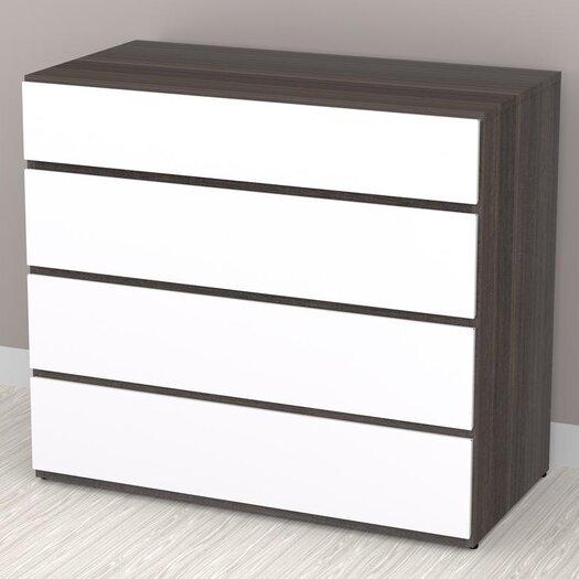 Nexera Allure 4 Drawer Dresser