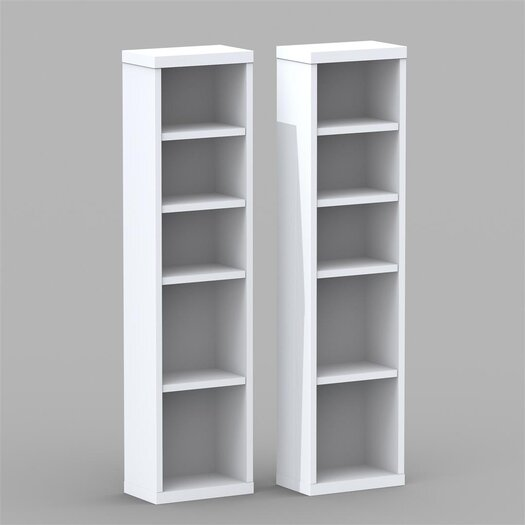 Nexera CD/DVD Multimedia Storage Rack