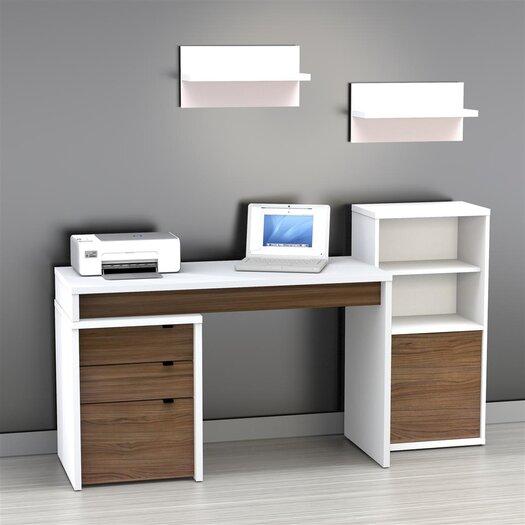 Nexera Liber-T 3-Drawer File Cabinet