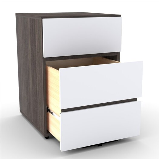 Nexera Atom 2-Drawer Filing Cabinet