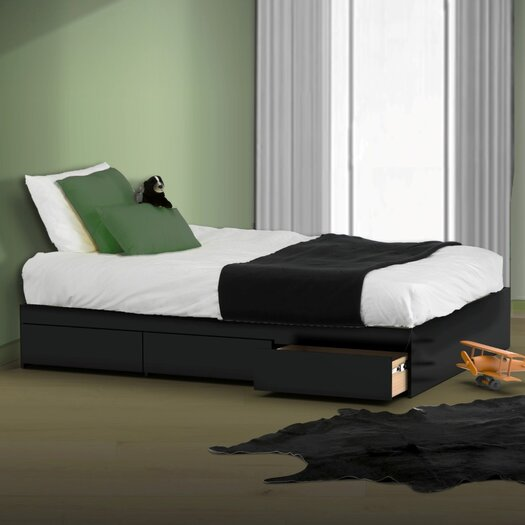 Nexera Avenue Reversible Storage Bed