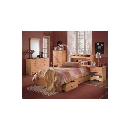 Nexera Alegria Double 6 Drawer Dresser