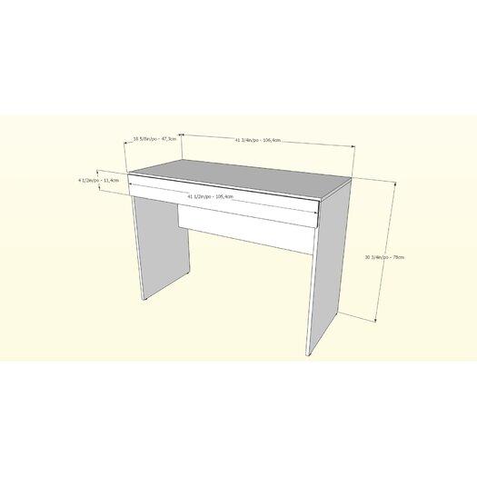 Nexera BLVD Writing Desk with Flip Down Door