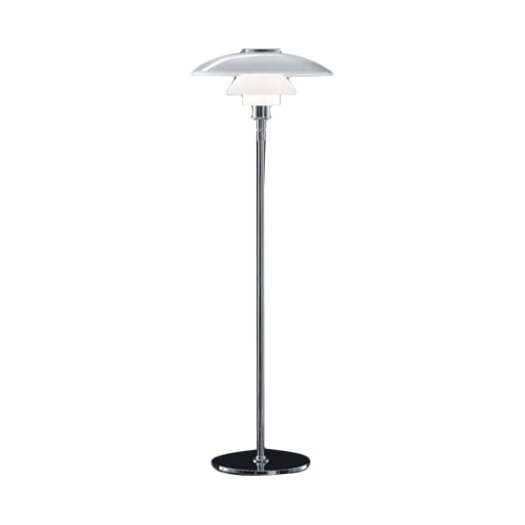 Louis Poulsen PH Glass Floor Lamp