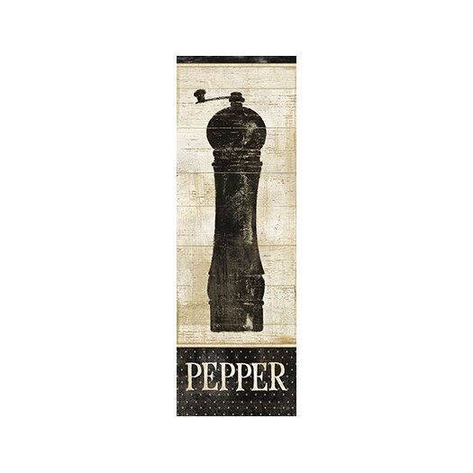 iCanvas Decorative Art 'Salt and Pepper II' by Daphne Brissonnet Graphic Art on Canvas