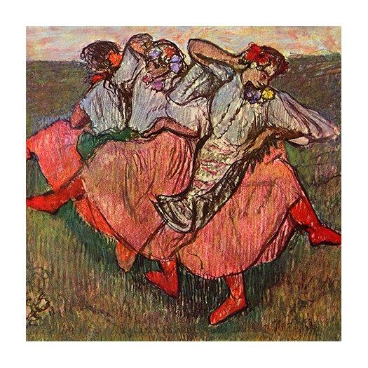 "iCanvas ""Russian Dancers"" Canvas Wall Art by Edgar Degas"