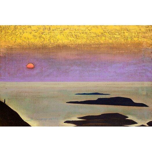 iCanvas 'Monhegan' by Nicholas Roerich Painting Print on Canvas
