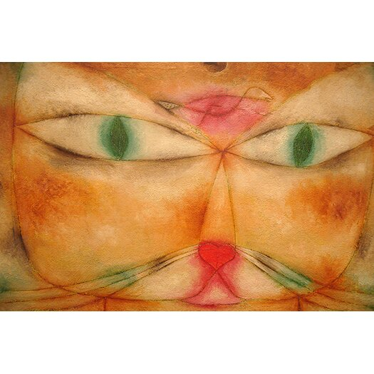 iCanvas 'Cat and Bird' by Paul Klee Painting Print on Canvas