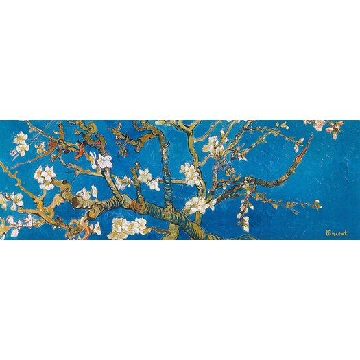 iCanvas 'Almond Blossom' by Vincent Van Gogh Painting Print on Canvas in Blue