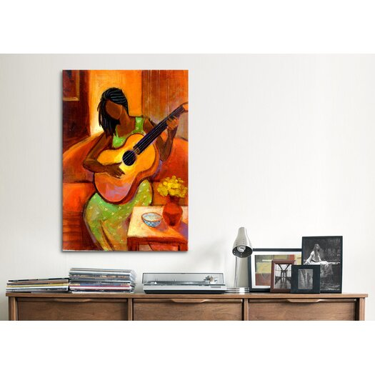 "iCanvas ""Ballad"" by Keith Mallett Painting Print on Canvas"