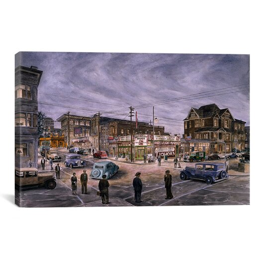 iCanvas 'A Night On Bunker Hill' by Stanton Manolakas Painting Print on Canvas