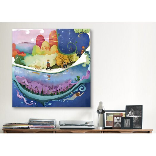 """iCanvas """"Autumn"""" Canvas Wall Art by Youchan"""