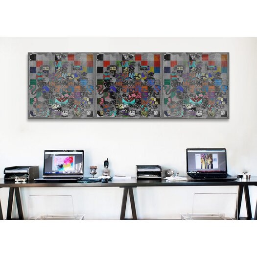 iCanvasArt Canada, Coat of Arms Panoramic Graphic Art on Canvas