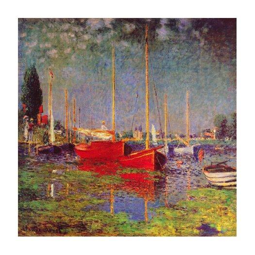 "iCanvas ""Argenteuil"" Canvas Wall Art by Claude Monet"