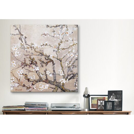 iCanvas 'Almond Branches' by Vincent Van Gogh Painting Print on Canvas