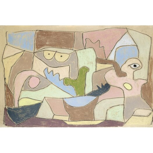 iCanvas 'Also True of Plants (Gilt Auch Fur Pflanzen) 1932' by Paul Klee Painting Print on Canvas