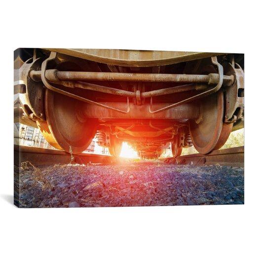 iCanvas 'Atomic Train' by Sebastien Lory Photographic Print on Canvas