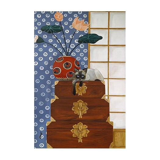 iCanvas 'Jasmine on Oriental Wedding Chests' by Jan Panico Graphic Art on Canvas