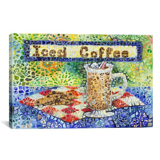 iCanvas 'Iced Coffee' by Charlsie Kelly Graphic Art on Canvas