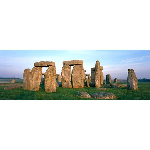 iCanvas Panoramic England, Wiltshire, Stonehenge Photographic Print on Canvas