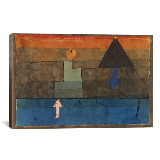 "iCanvas ""Contrasts 1924-1925"" Canvas Wall Art by Paul Klee"