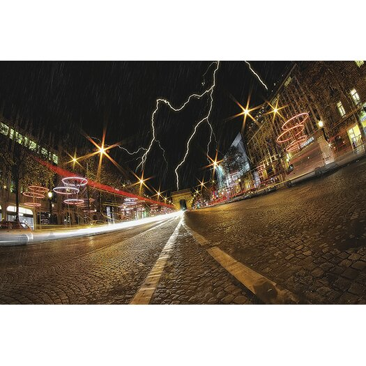 iCanvas 'Elysee Storm' by Sebastien Lory Photographic Print on Canvas