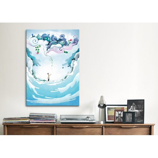 iCanvas 'Emerger' by Youchan Painting Print on Canvas