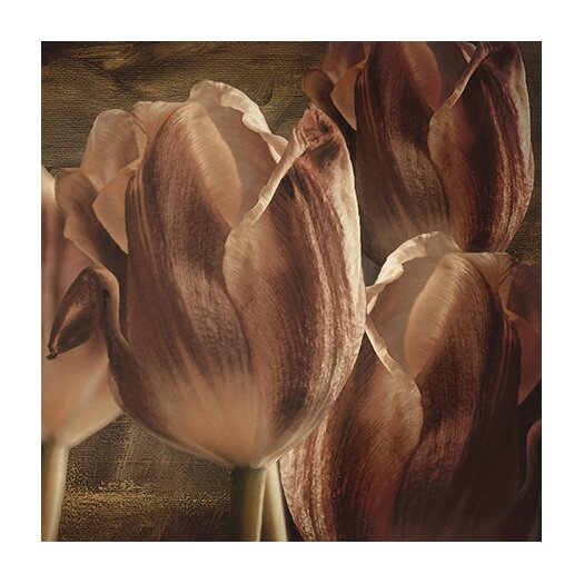 "iCanvas ""Copper Tulips"" Canvas Wall Art by Mindy Sommers"