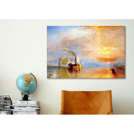 iCanvas 'Fighting Temeraire' by Joseph William Turner Painting Print on Canvas