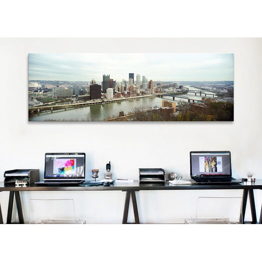 iCanvas Panoramic Pittsburgh, Pennsylvania Photographic Print on Canvas