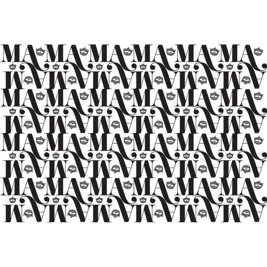 iCanvas Miss America Crown Logo Textual Art on Canvas