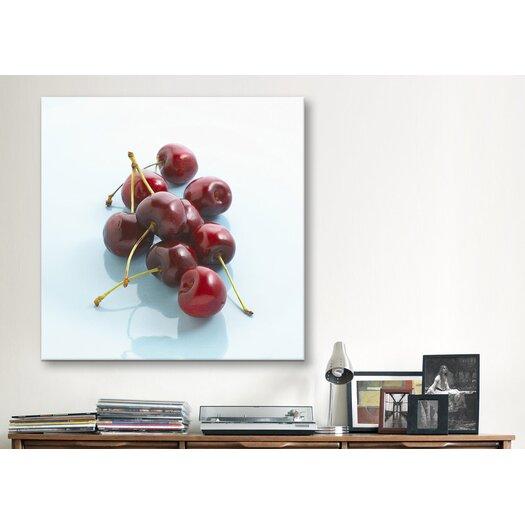iCanvas Red Cherries Photographic