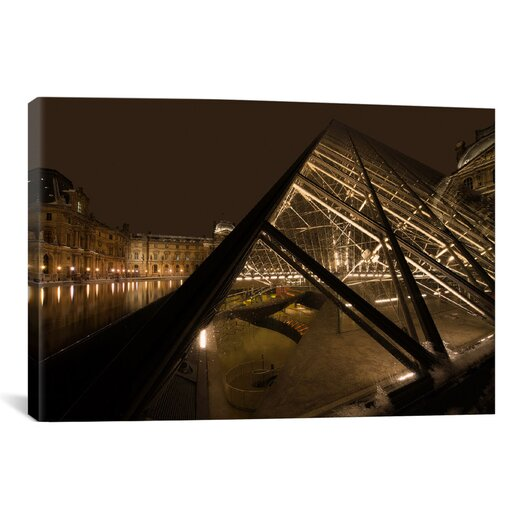 iCanvas 'Louvre' by Sebastien Lory Photographic Print on Canvas
