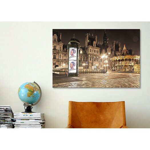 iCanvas 'Night Carnival' by Sebastien Lory Photographic Print on Canvas