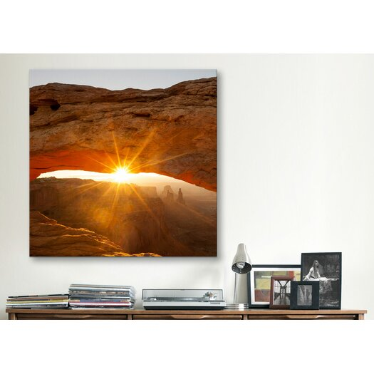 "iCanvasArt ""Mesa Arch Beauty  #2"" Canvas Wall Art by Dan Ballard"