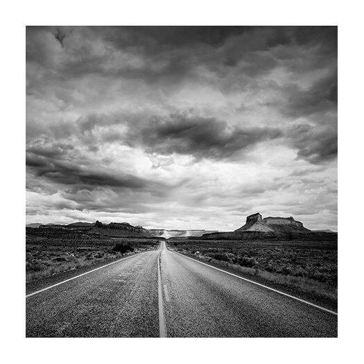 "iCanvas ""Long Stretch of Road #2"" Canvas Wall Art by Dan Ballard"