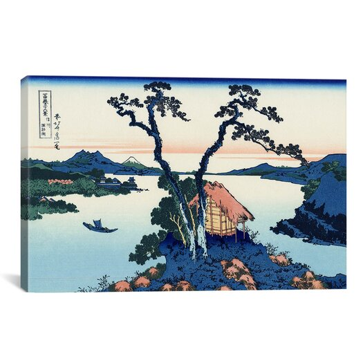 iCanvas 'Lake Suwa in the Shinano Province' by Katsushika Hokusai Graphic Art on Canvas