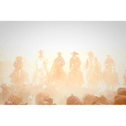 iCanvas 'Pushing the Herd' by Dan Ballard Photographic Print on Canvas