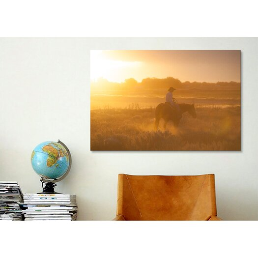 iCanvas 'Ready to Ride' by Dan Ballard Photographic Print on Canvas