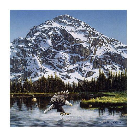 """iCanvas """"Mountain Majesty"""" Canvas Wall Art by John Van Straalen"""