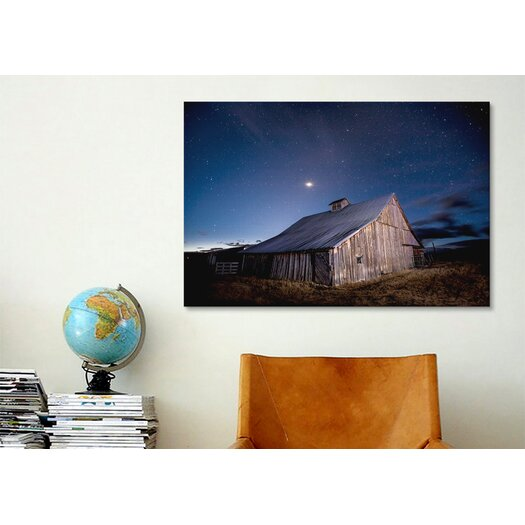 iCanvas 'Painted Barn' by Dan Ballard Photographic Print on Canvas