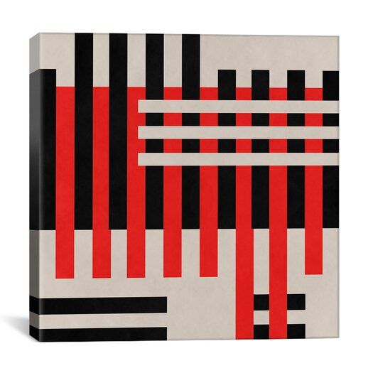 iCanvas Modern Art Intersection Graphic Art on Canvas