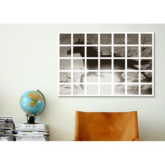 iCanvasArt Modern Art Swimming Horse Graphic Art on Canvas