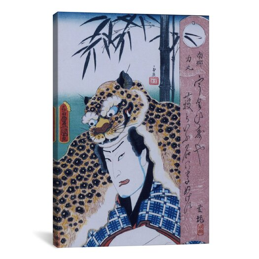 iCanvas Japanese Art 'Nango Rikimaru' by Kunisada (Toyokuni) Painting Print on Canvas