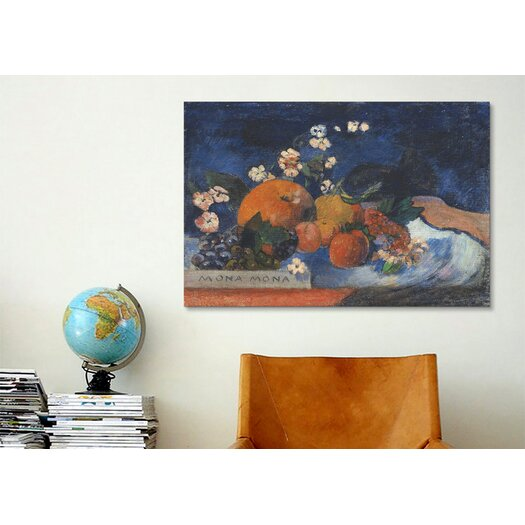 iCanvasArt 'Mona Mona, Savoureux' by Paul Gauguin Painting Print on Canvas
