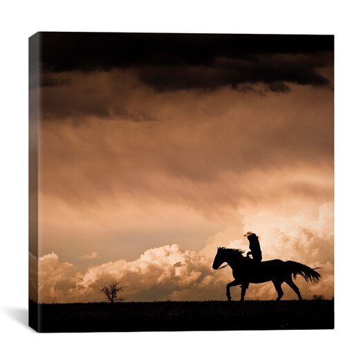 "iCanvasArt ""Ride the Storm #2"" Canvas Wall Art by Dan Ballard"
