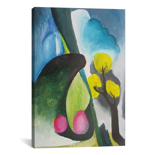 "iCanvasArt ""Spring"" Canvas Wall Art by Georgia O'Keeffe"