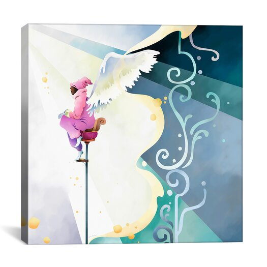 """iCanvas """"Wings of Song"""" Canvas Wall Art by Youchan"""