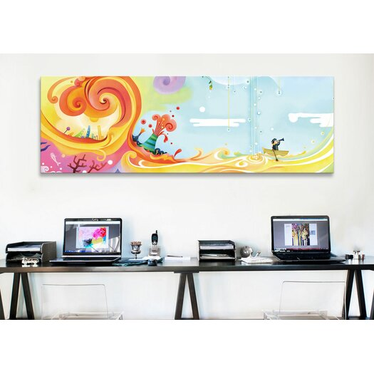 "iCanvas ""Ship"" Canvas Wall Art by Youchan"